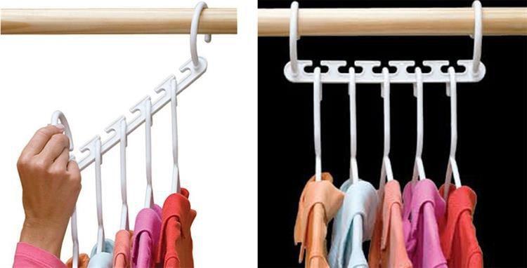 Органайзер для гардероба Повесьте до 50 вешалок