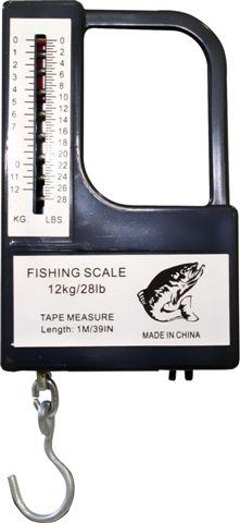 Купить Вес рыбалки до 12 кг + рулетка 1м РАЗМЕР на Otpravka - цены и фото - доставка из Польши и стран Европы в Украину.