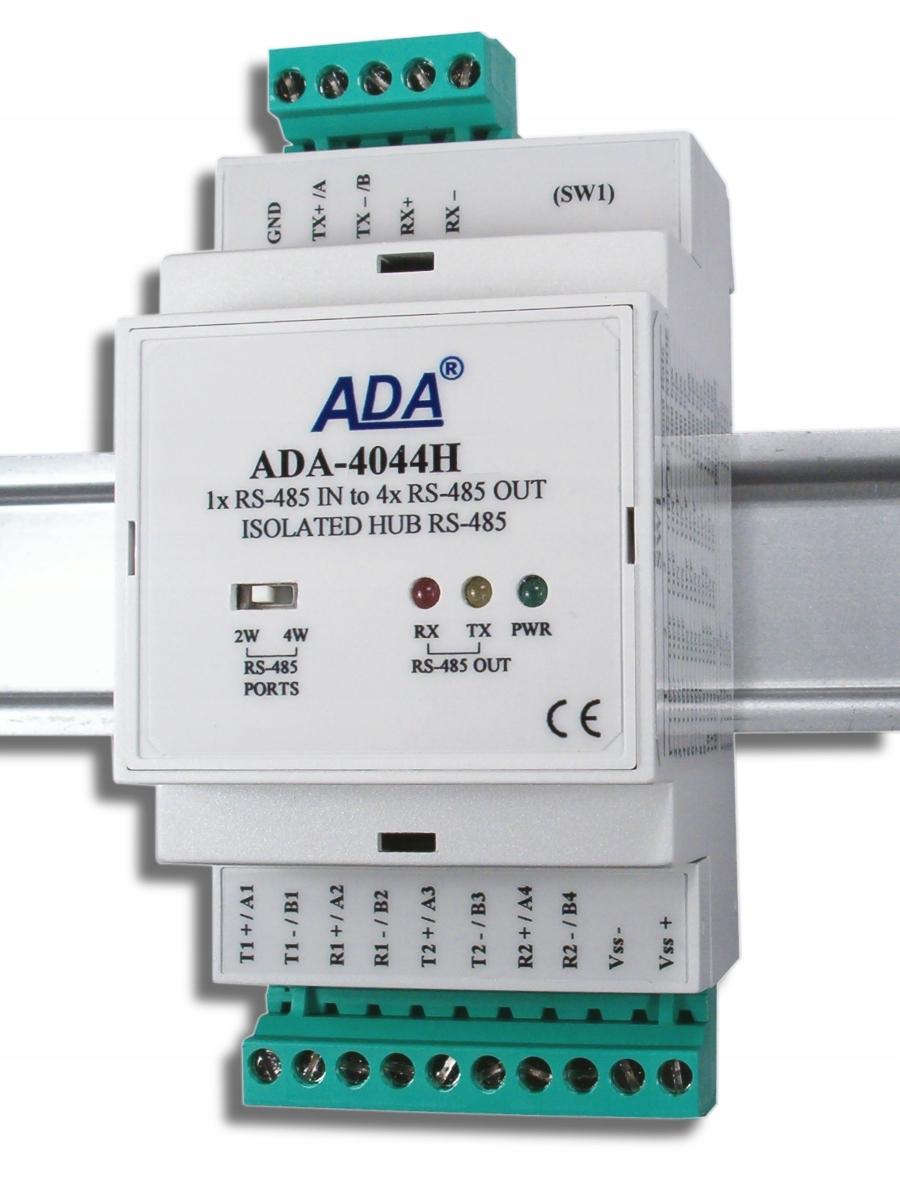 HUB RS-485 / RS-422 ADA-4044H VERZIA -1-23-3 COLE-M