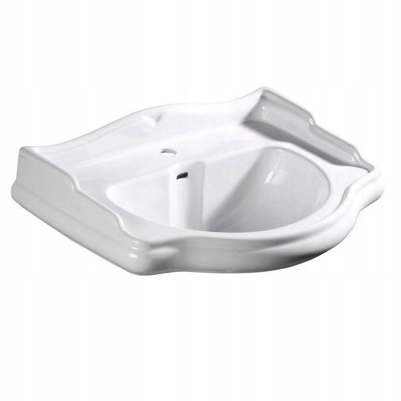 Kerasan Retro umývadlo pozastavené 73x54 cm biele