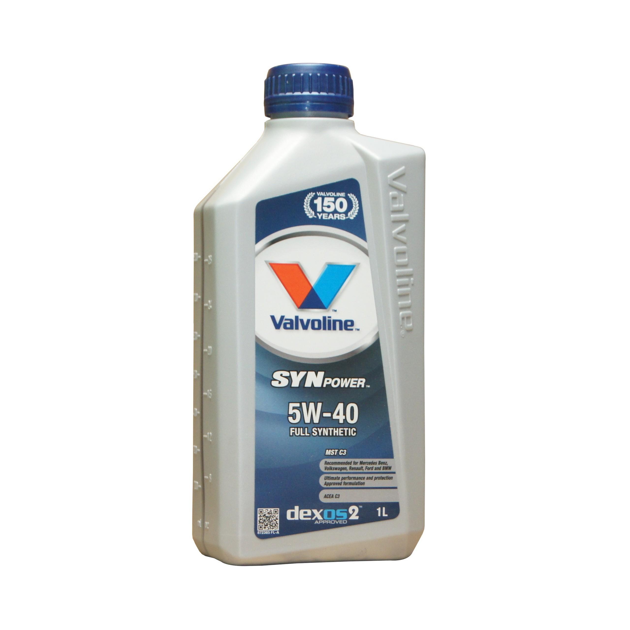 22ab60c2ca69bc VALVOLINE SYNPOWER MST C3 5W40 olej silnikowy 1L 7006004160 - Allegro.pl