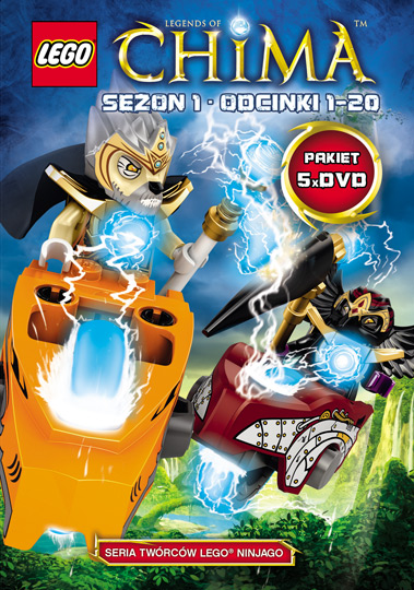 "Item 5 DVD LEGO CHIMA "" SEASON 1 EPISODES 1-20"