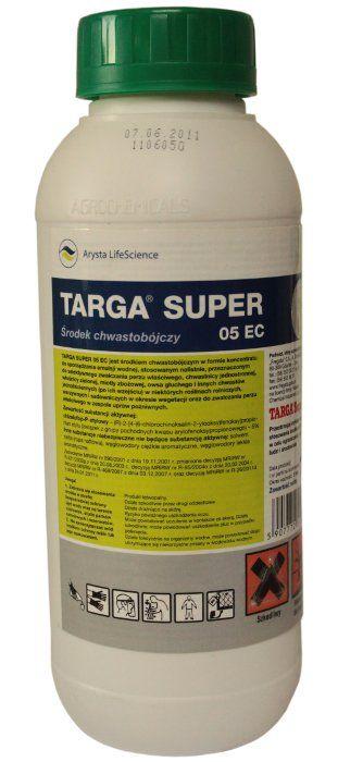Targa Super 5EC 1L борется с однодольными сорняками
