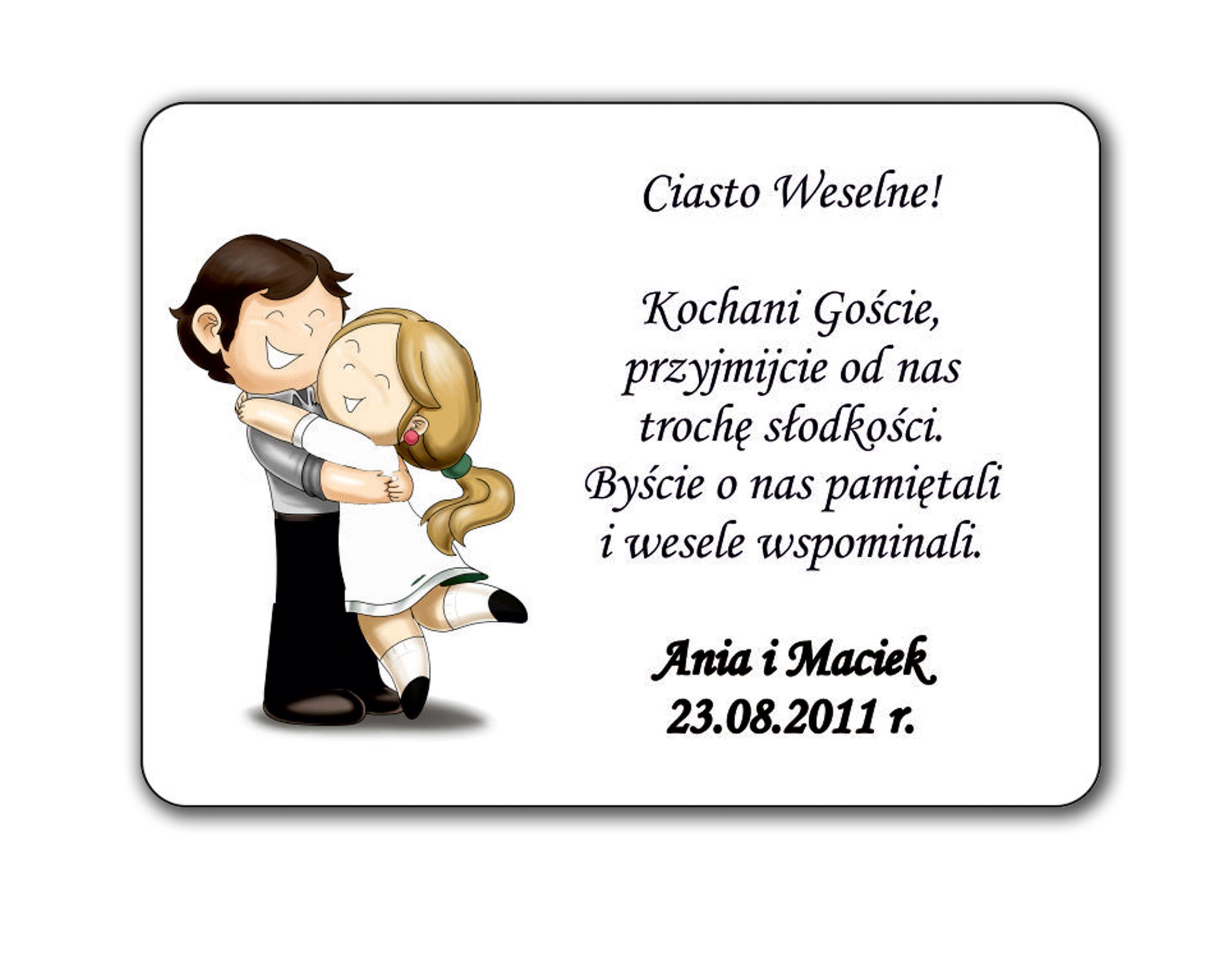 Купить Этикетки на торт свадебные свадебные НАКЛЕЙКИ подарки на Otpravka - цены и фото - доставка из Польши и стран Европы в Украину.
