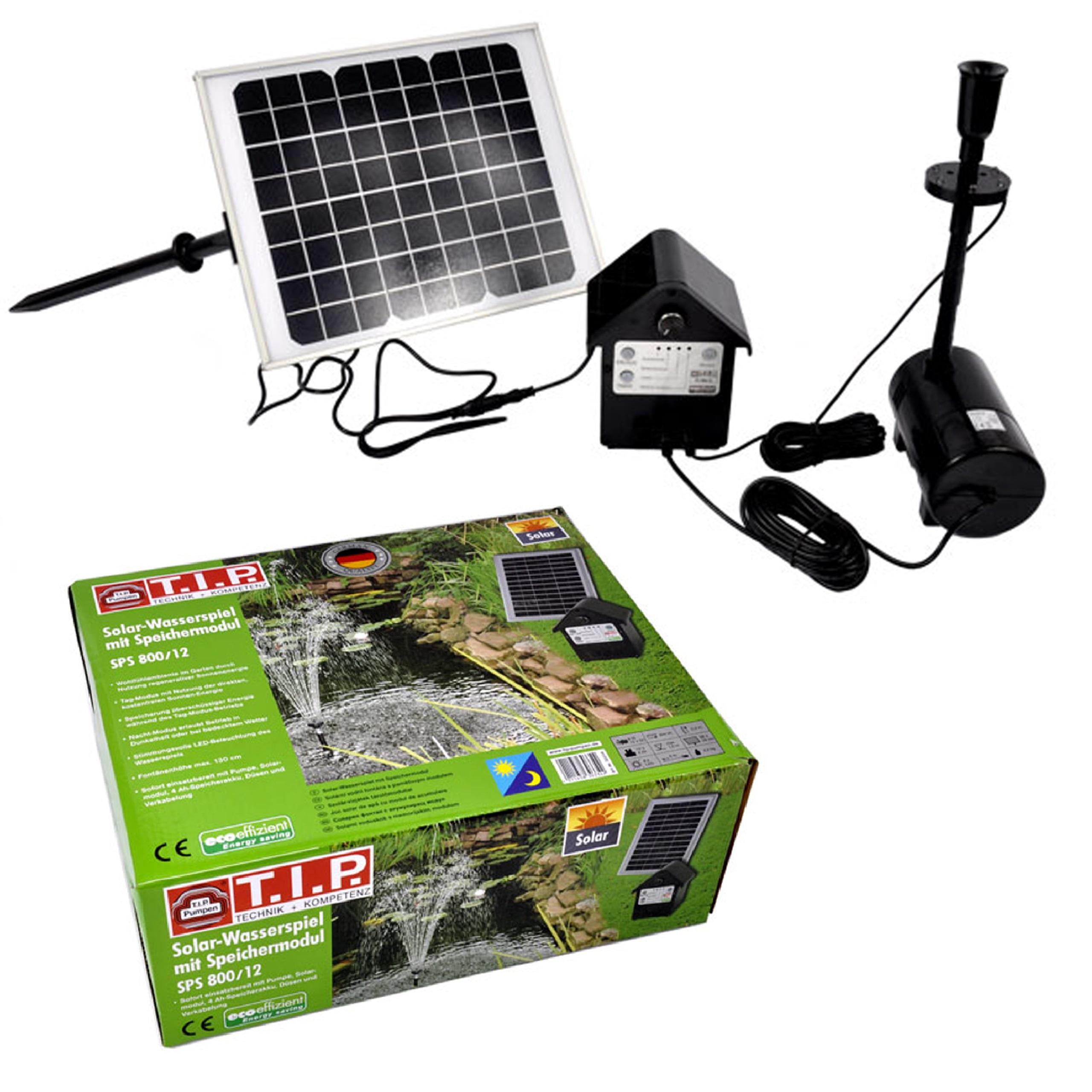 Pompa Solarna Do Oczka Wodnego Oświetlenie Led Eco