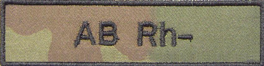 EMBLEM - Krvná skupina AB RH-