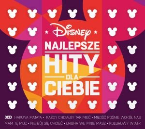 Item SONGS FOR KIDS from Disney Movies in Polish 3CD