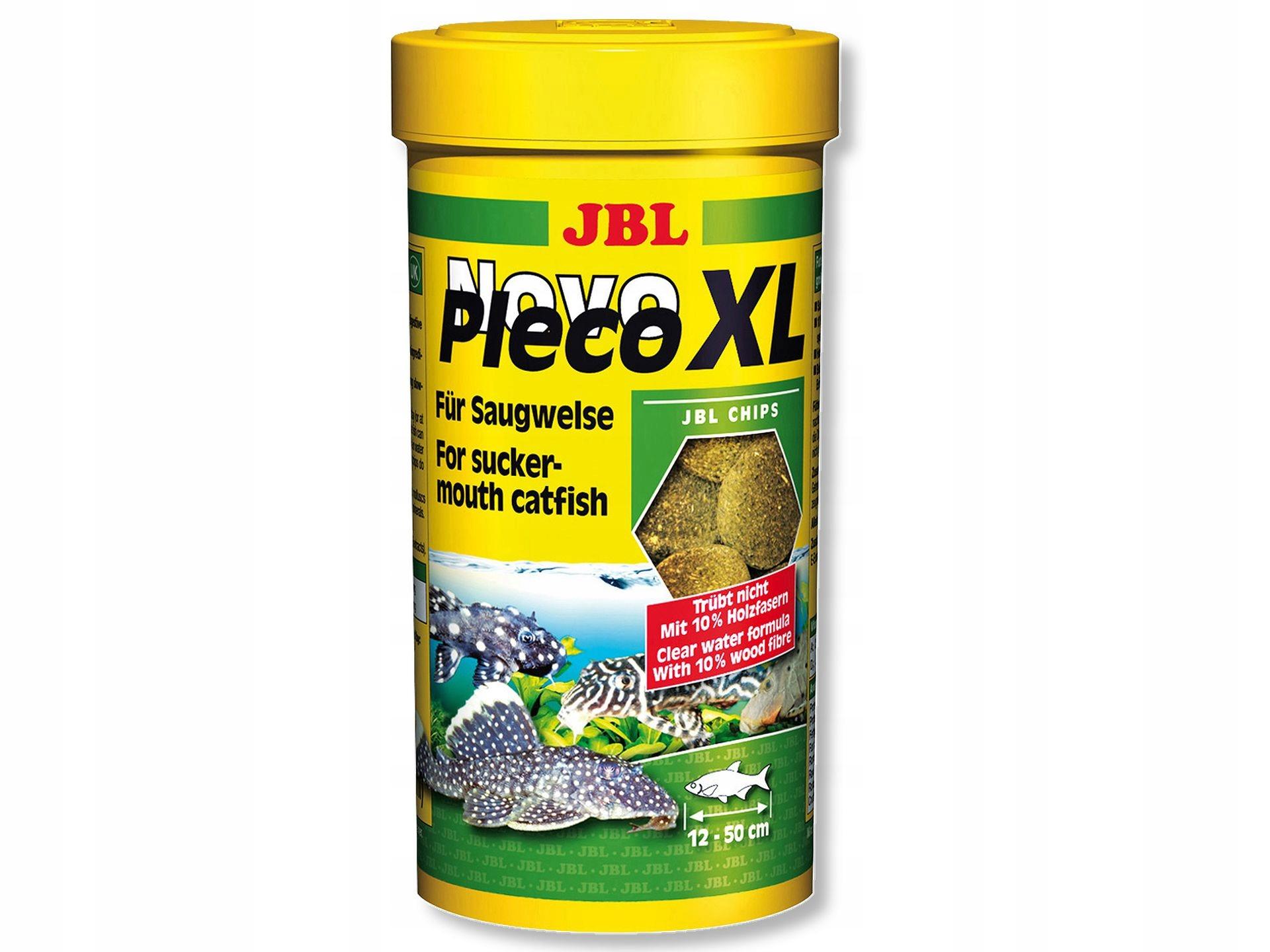 JBL NovoPleco XL 1 liter tablety pre glonojadów