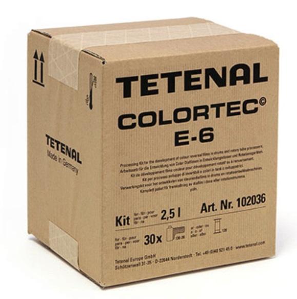 Tetenal Colortec Color Chemicia E6 pre 2,5 litre