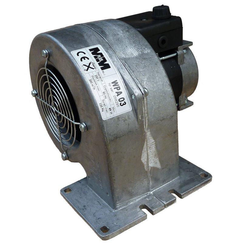 Dmuchawa do pieca wentylator WPA03K 3biegi 280m3/h