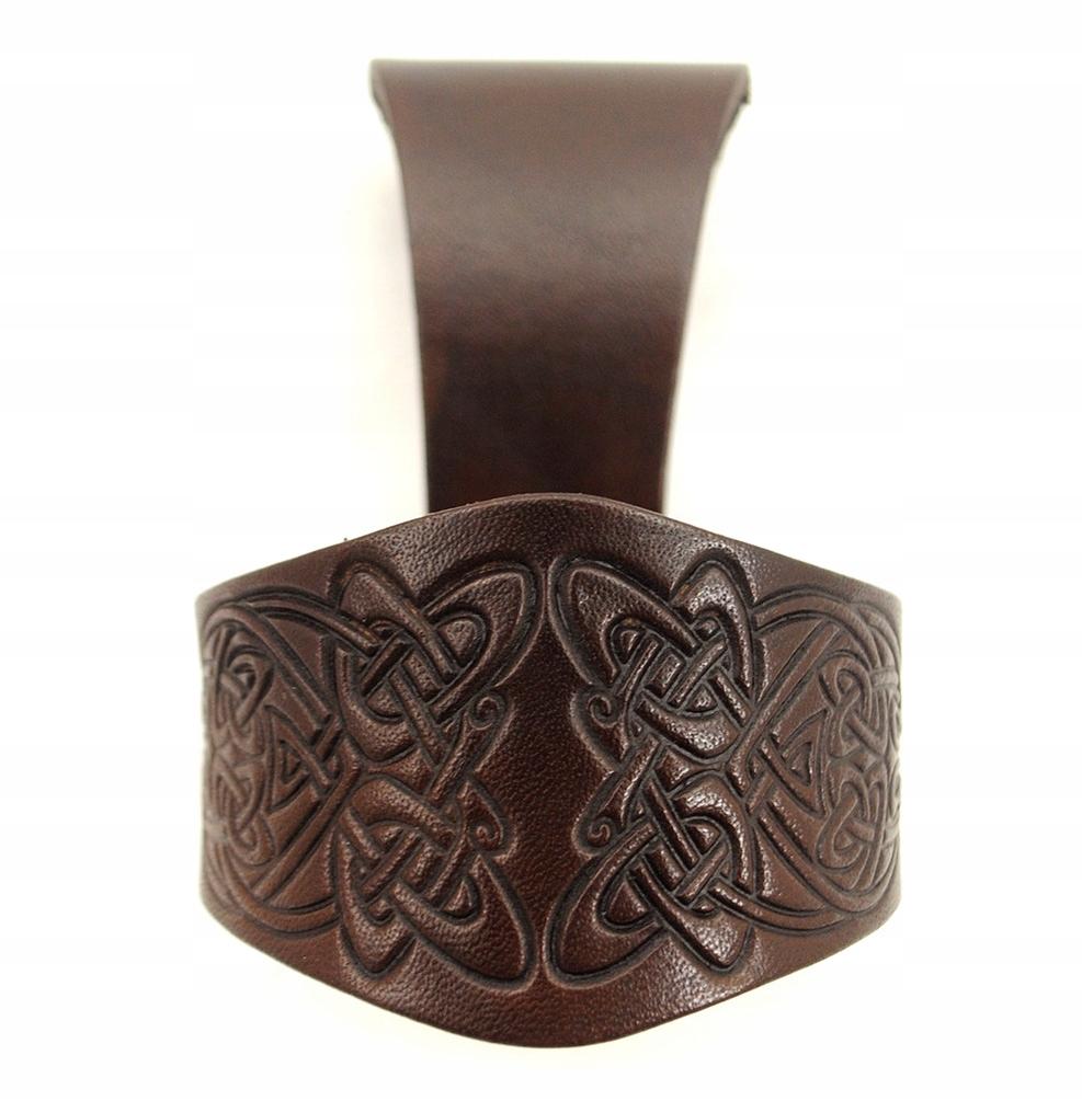 Купить Кожа Украшенное кожаный держатель для Рог - 3-х размеров на Otpravka - цены и фото - доставка из Польши и стран Европы в Украину.