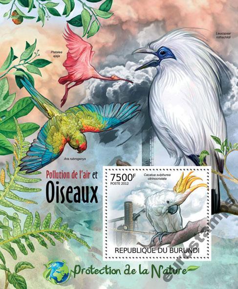 Купить ПТИЦЫ Охрана природы Бурунди квартал # BUR12409b на Otpravka - цены и фото - доставка из Польши и стран Европы в Украину.