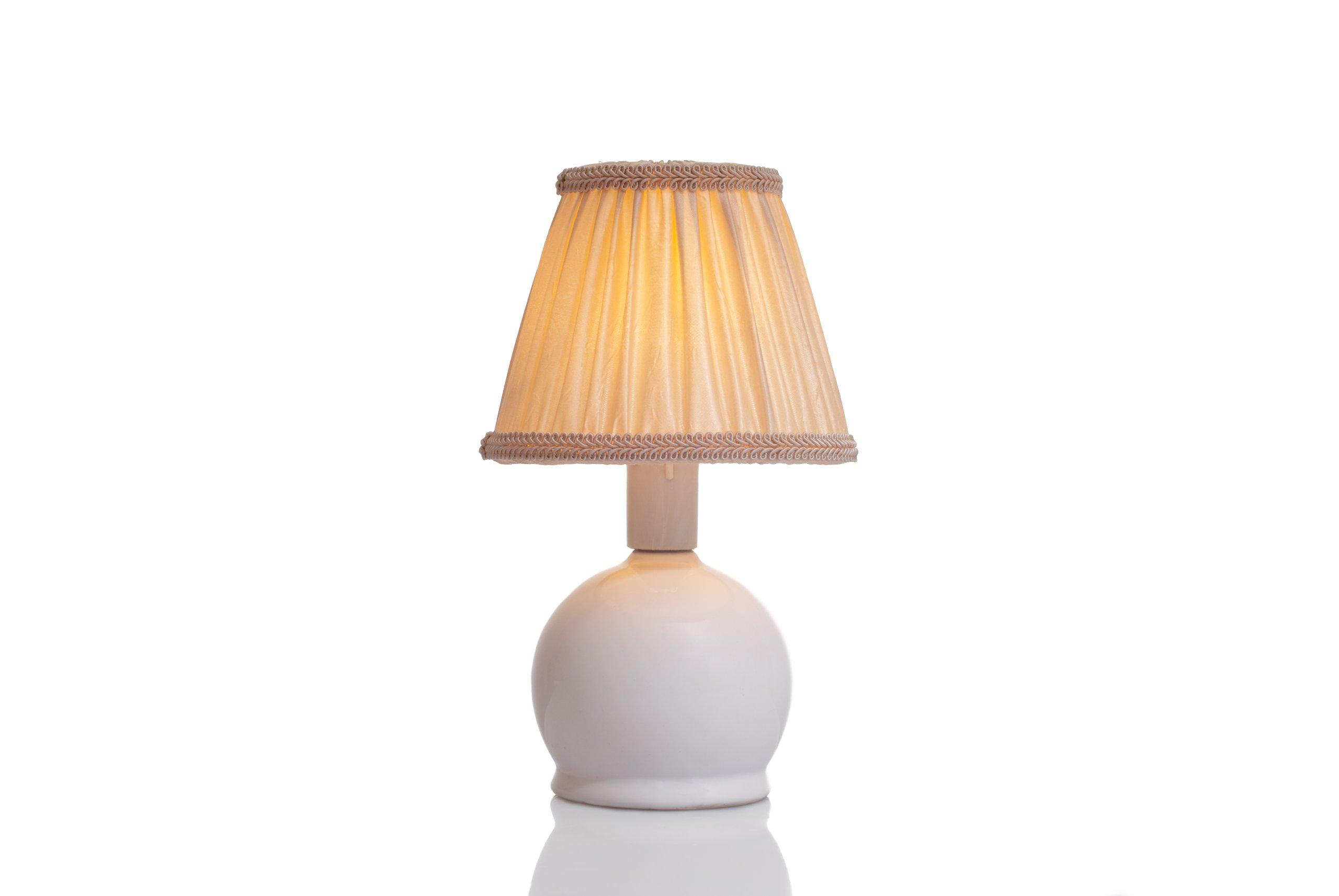 Štýlové retro tienidlo, tienidlo lampy na čítanie luster