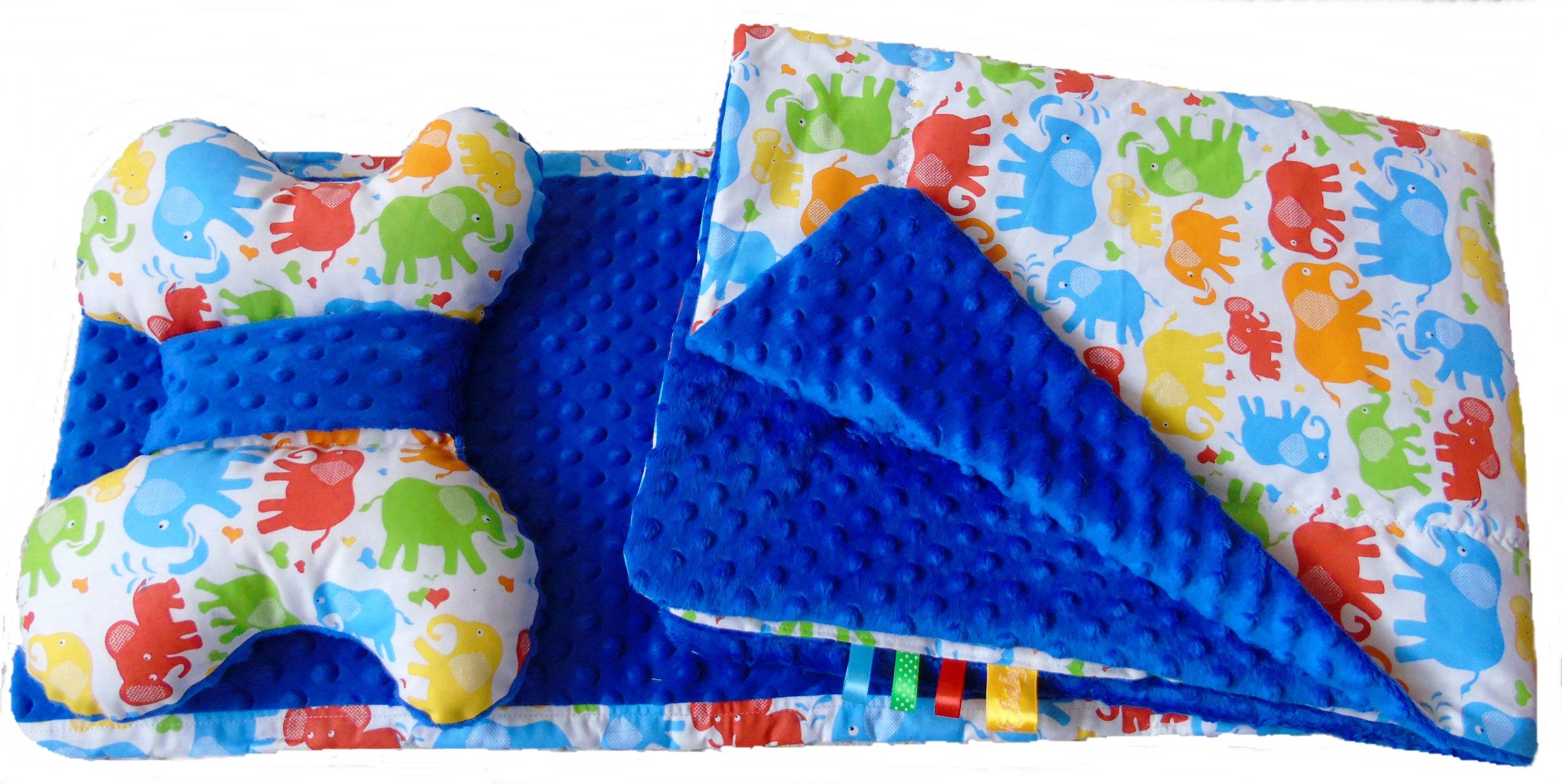sada pre kočík: deka + vložka + vzory Butterfly Minky