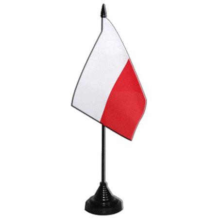 Flaga na biurko Polska Poland 10x15 Flagietki