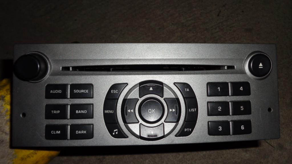 Picture of RADIO CD , PEUGEOT 407 , 04- 9646871777