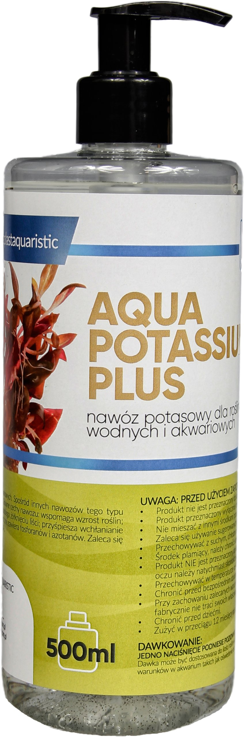 AQUA PLANTS POTASSIUM плюс калий ? жидкости 500 мл