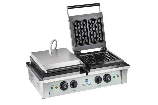 Royal 10010315 Waffle Machine Double 2x 2000W