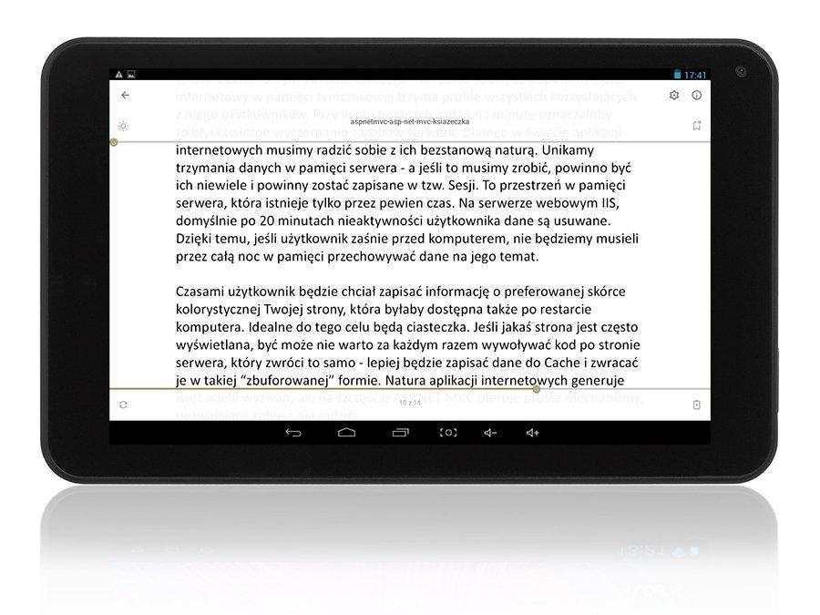 CZYTNIK EBOOK 7'' DOTYK WiFi +633 E-BOOKÓW