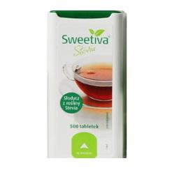 STEWIA STEVIA SWEETIVA SWEETENER 500 таблеток