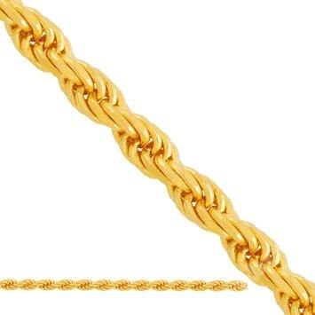 Kordel zlata reťazca 45 cm + zadarmo pr.333