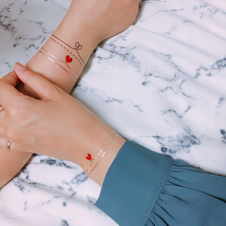 Paperself Tatuaż Love Naklejane Na Rękę Plecy