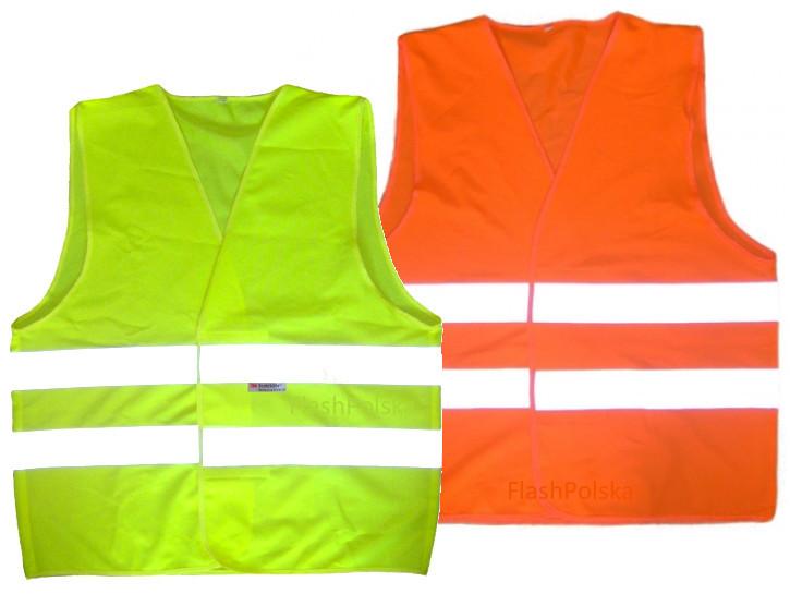 Отражатель дорожного предупреждения жилет CE