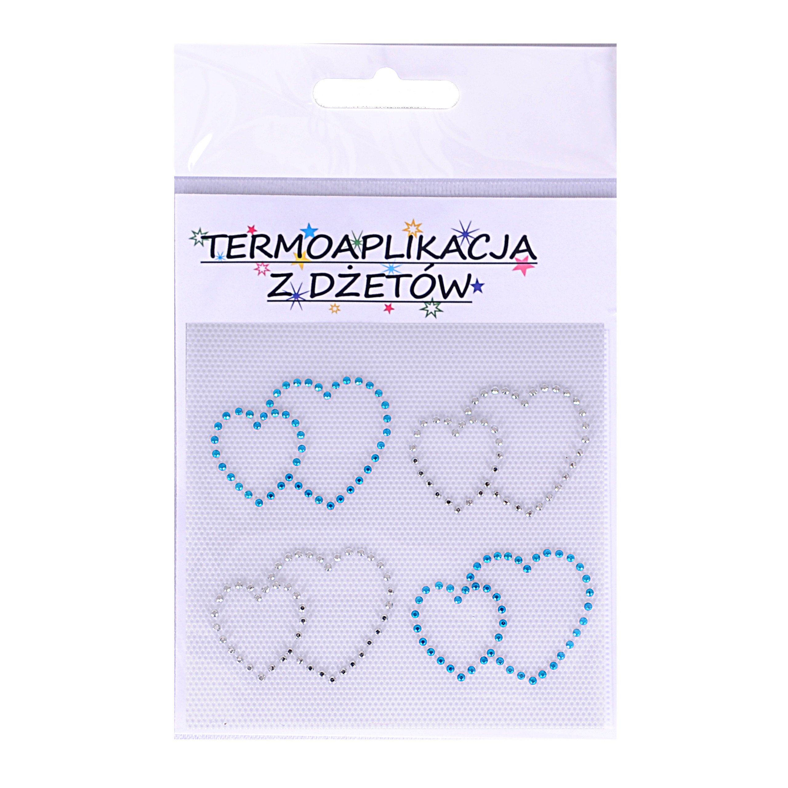 термоаппликация со стразами, гладильная книжка в форме сердца