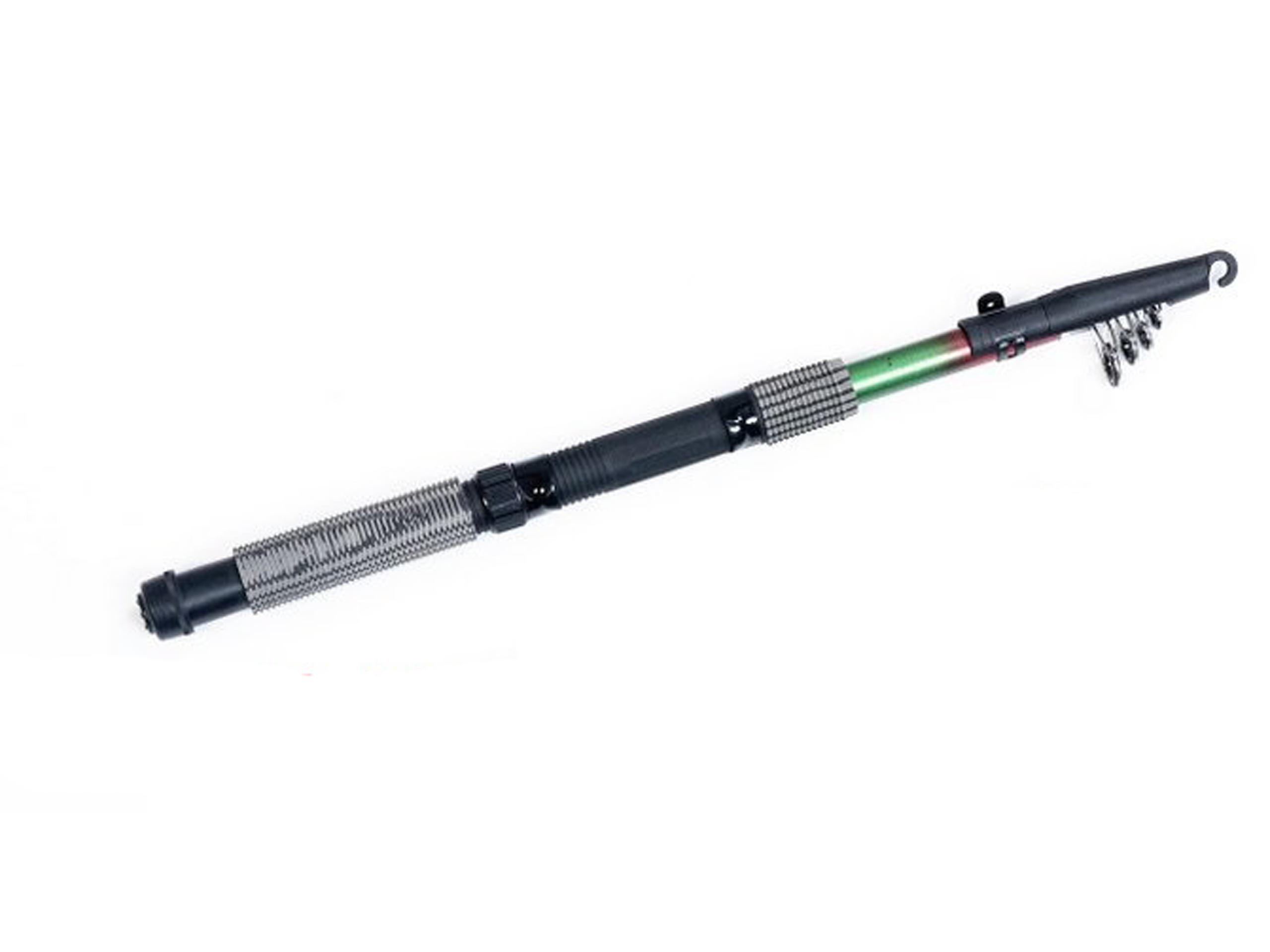 Teleskopický rybársky prút 2.10 na zvlákňovacích plavákových tyčí