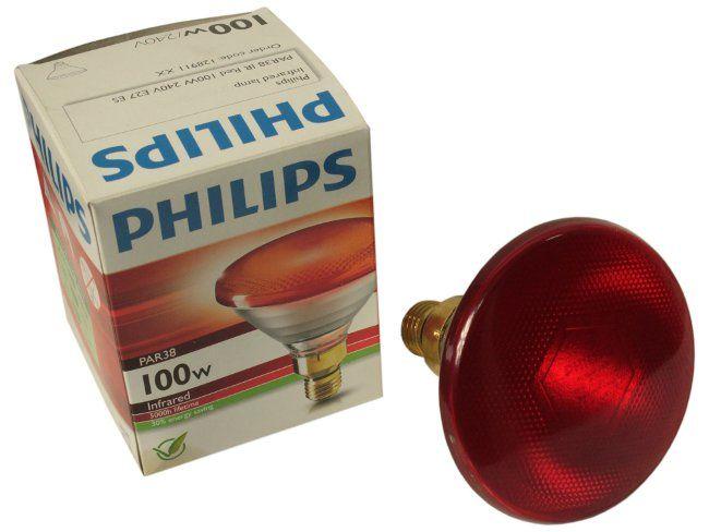 Infračervený Hydryer E27 100W Philips Red