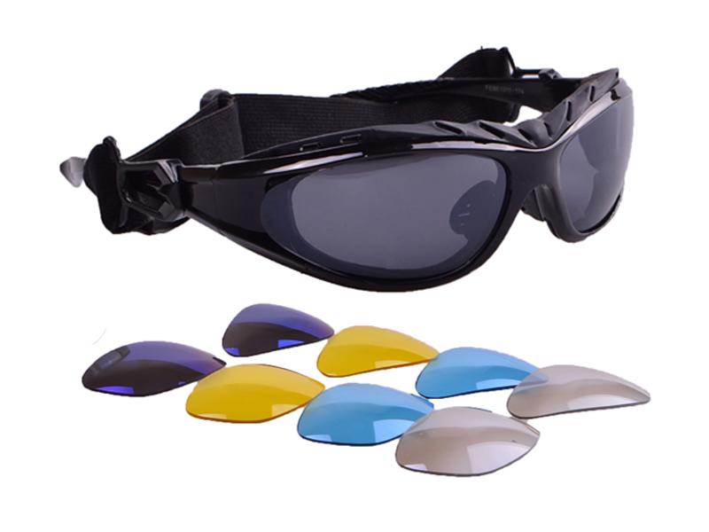 Okuliare polarizačné bicykle + vymeniteľné okuliare