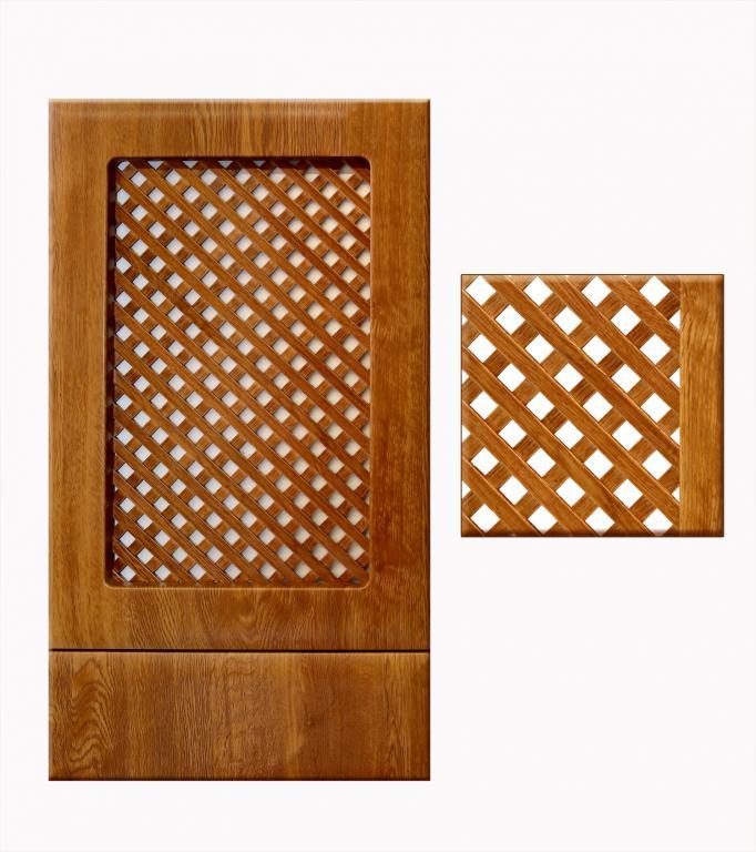 Мебельная решетка радиатора деревянная ажурная решетка