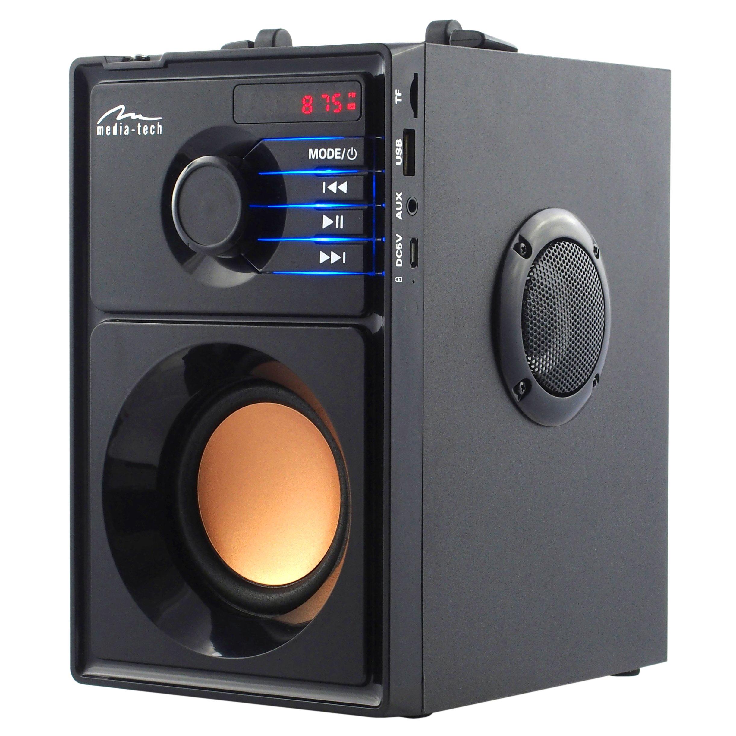 Media-Tech MT3145 15 Вт MP3 стерео динамик Bluetooth