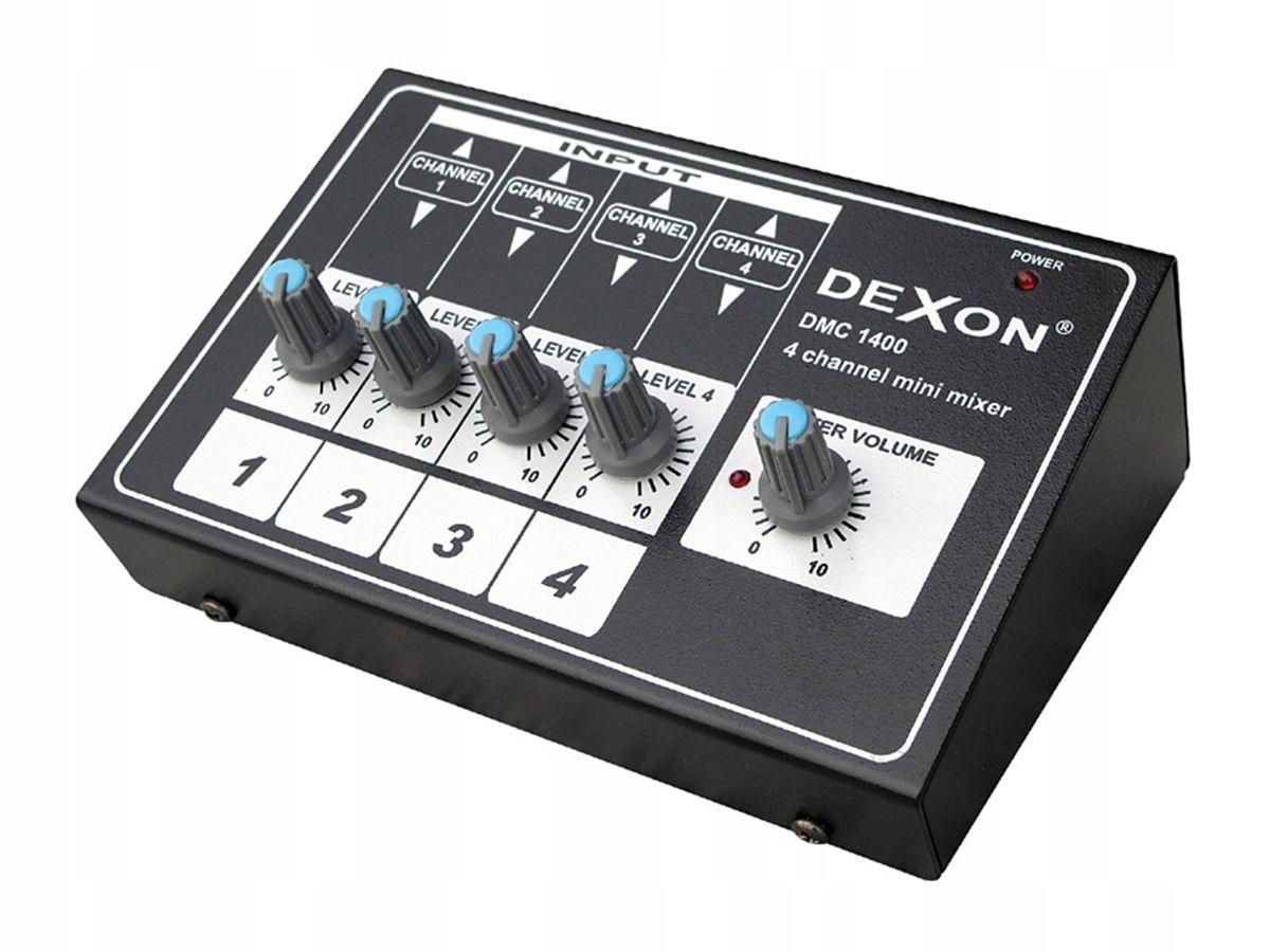 Item Dexon mini-mixer for small nagłośnień