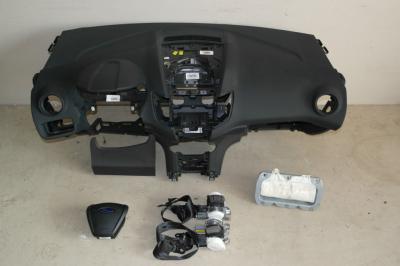 fiesta mk7 liftczarn доска консоль airbag ремни org