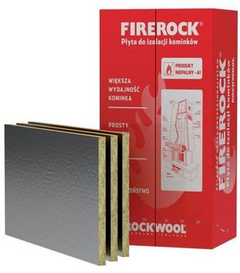Шерсть каминный FIREROCK 25 мм ROCKWOOL 4,8м2