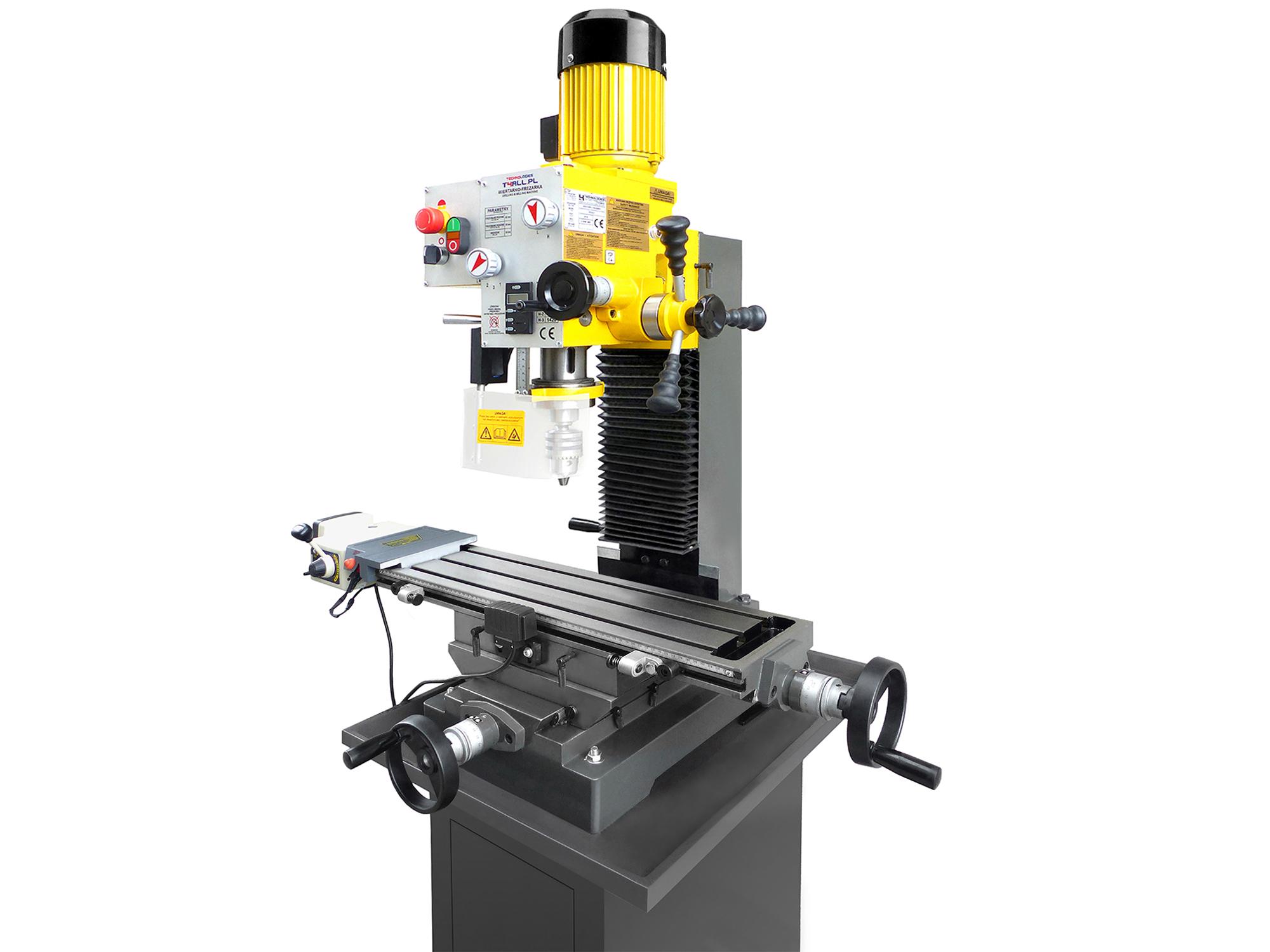 Vŕtací stĺpový frézovací stroj FI-32/63 MK3 LCD FV