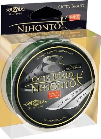 Mikado Nihonto Peňa Braid 0.12mm Zelená
