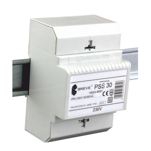 PSS 30 - 230 / 24VAC Transformátor pre DIN lištu