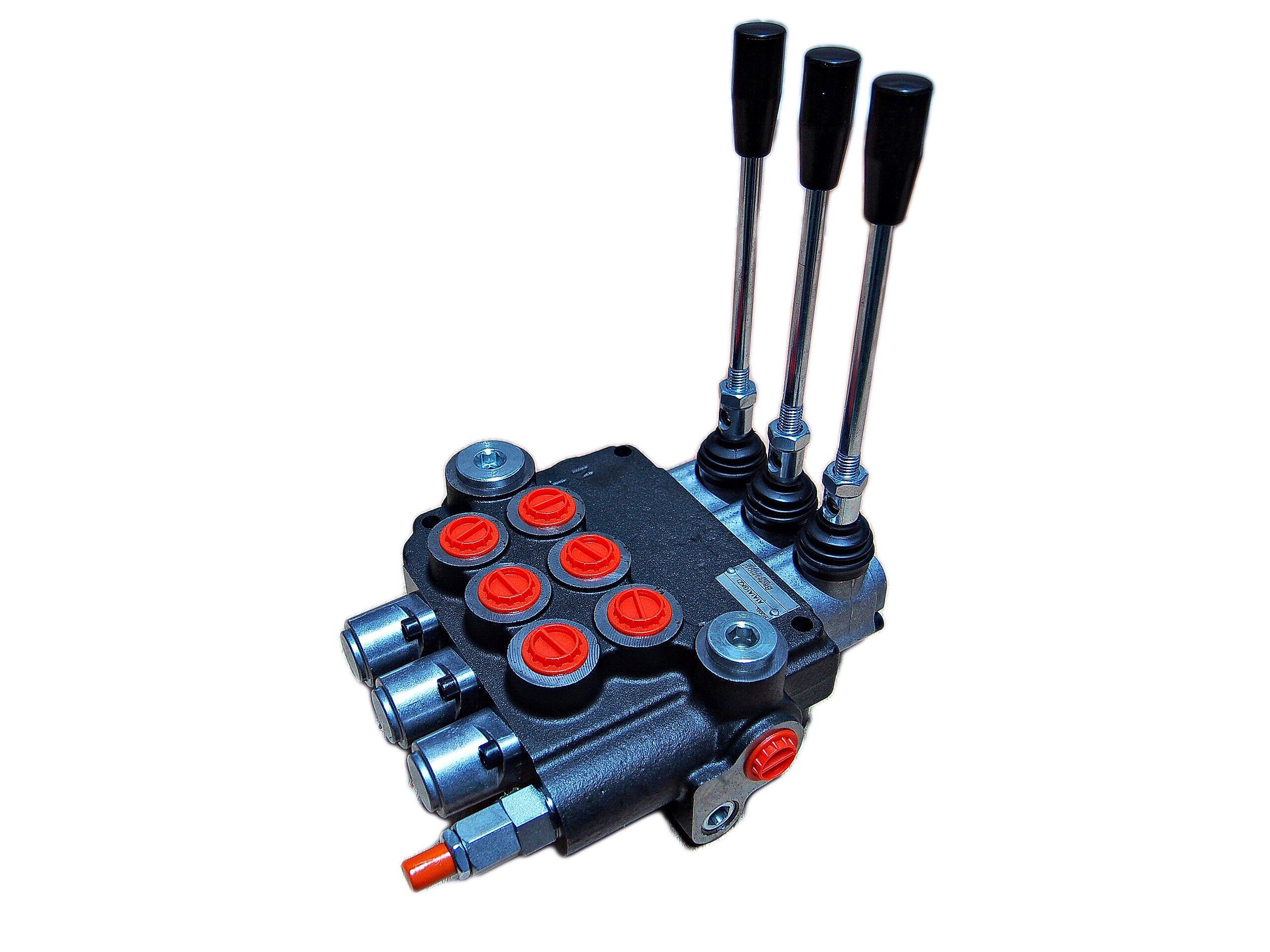 Hydraulický distribútor 80l 3 sekcia