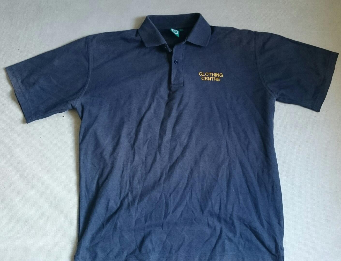 Polo Navy Blue T-Shirt L