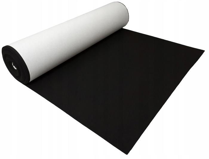 Filc SAMOPRZYLEPNY czarny 4 mm 600 g/m2 - 1.5 m2