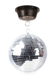 Zrkadlová guľa 30 cm Disco Professional