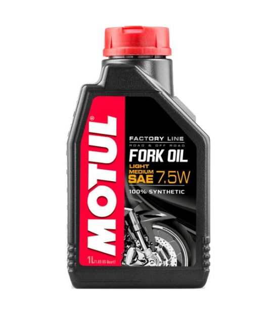 MOTUL Подвеска лаг масло FORK OIL FL 7.5W 1L
