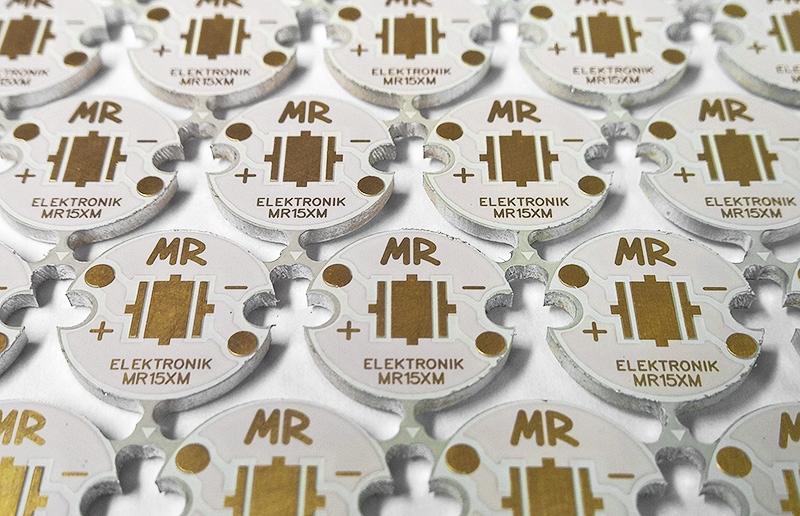 podłoże LED XM-L XM-L2 MR ELEKTRONIK MR15XM 15mm Kolor biała