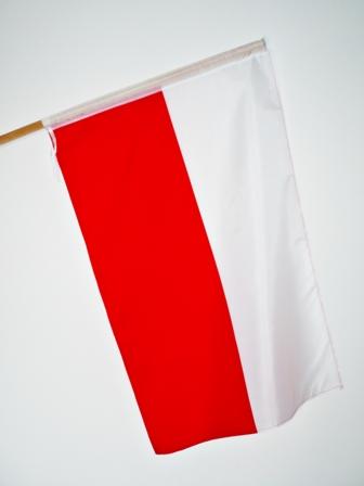 FLAGA POLSKA FLAGI POLSKI 150 x 90cm TUNEL - HIT
