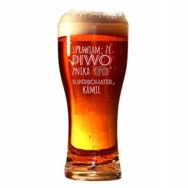 Pokal, szklanka do piwa - Superbohater + imię