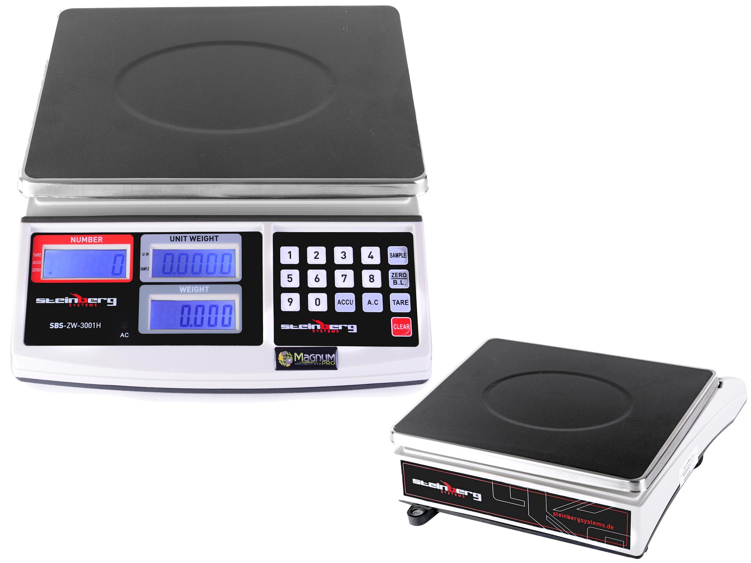 Hmotnosť počítania pre inventár vynálezcu LCD 30KG