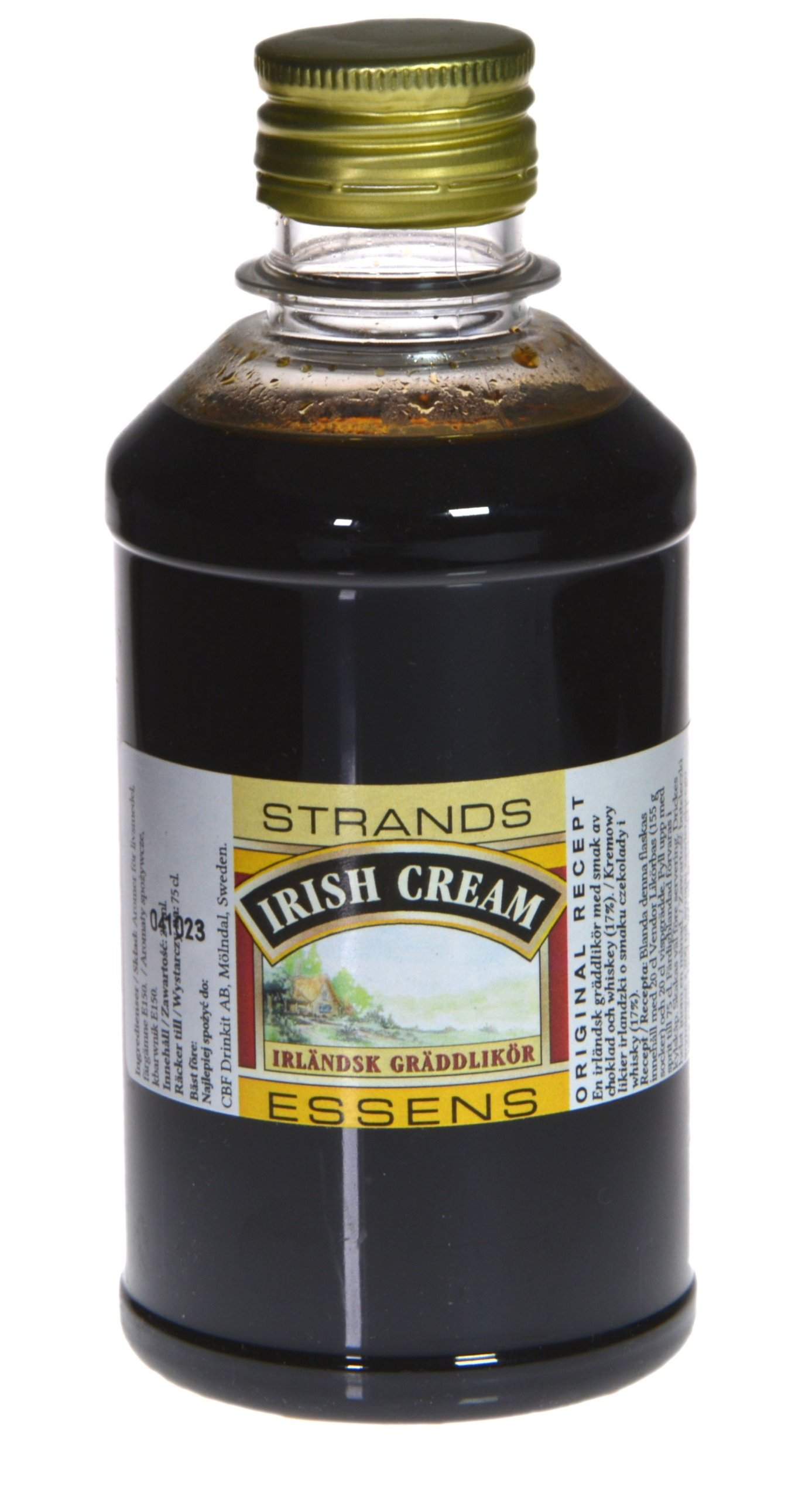 Zaprawka do alkoholu STRANDS - IRISH CREAM 250ml