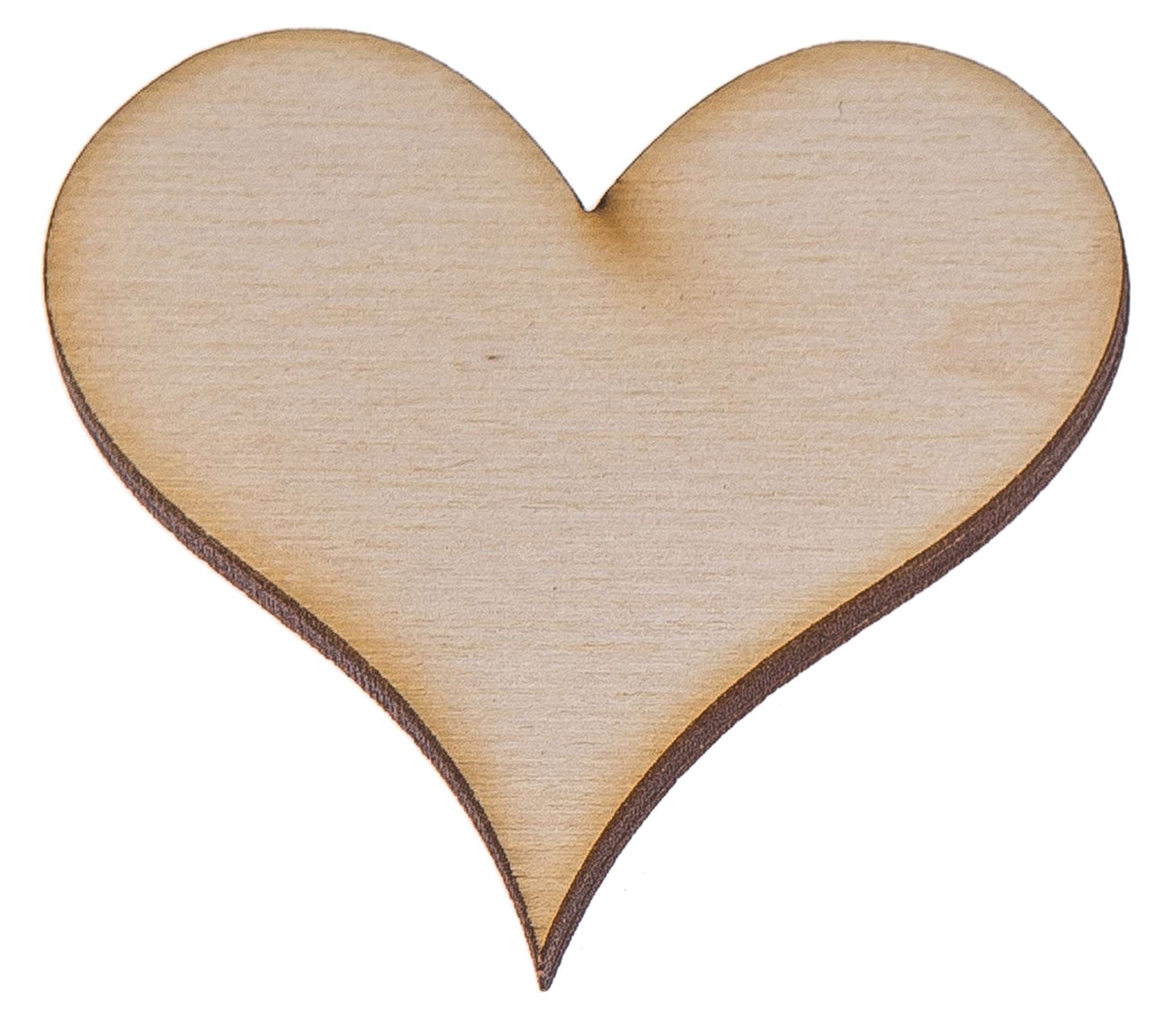 Картинки деревянных сердечек